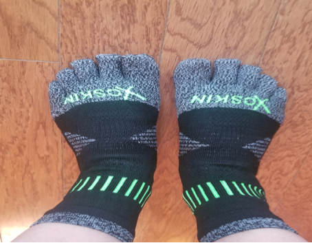 XOSKIN 5.0 XOTOES QTR Crew & ANKLET Sock Review