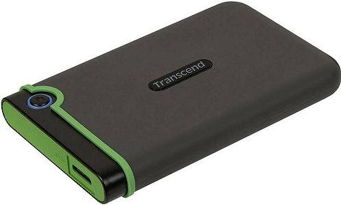 """Transcend StoreJet 25M3 Slim - Disque dur - 500 Go - externe (portable) - 2.5"""" -"""