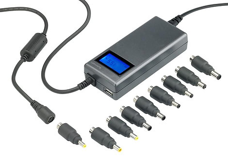 Chargeur universel 120W HEDEN automatique et multi-fonctions 5V-24V