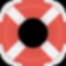 Icone bouée de sauvetage
