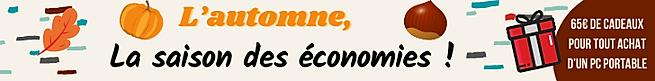 Bandeau site web promo pc portable octob