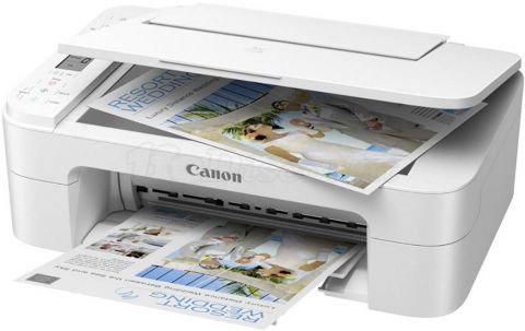 Imprimante jet d'encre Canon PIXMA TS3351 blanche