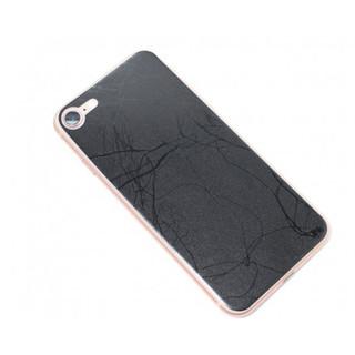 Covering smartphone marbre noir