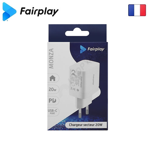 FAIRPLAY MONZA Chargeur PD USB-C (20W)