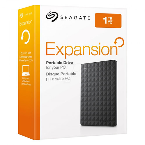 SEAGATE EXPANSION Disque dur externe 2,5'' 1TO