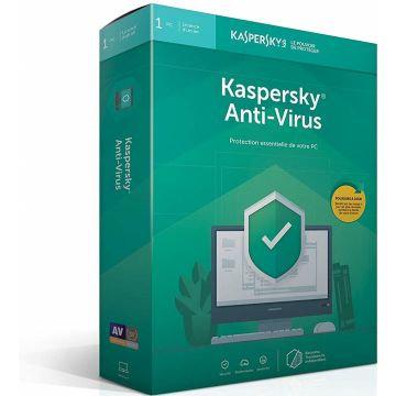 Kaspersky Antivirus 2020, 1 PC 1 AN