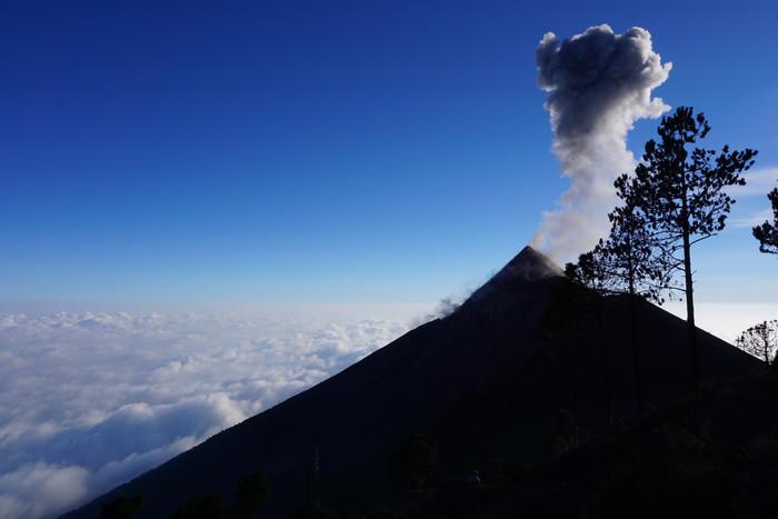 Le Guatemala: le pays des volcans