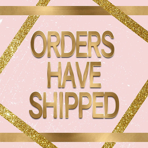 Orders Shipped Flyer