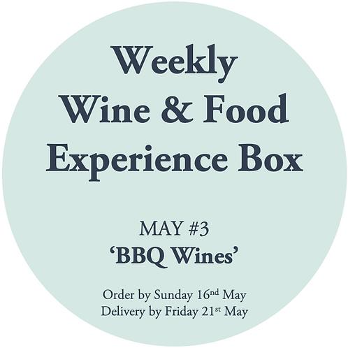 Weekly Tasting Box MAY #3 - BBQ Wines