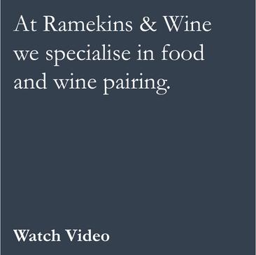 Ramekins & Wine