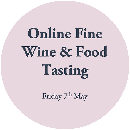 Private Online Wine Tasting - 7th May