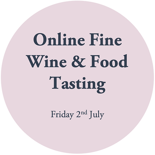 Online Fine Wine Tasting - Gunno's Grub & Grog 2nd July