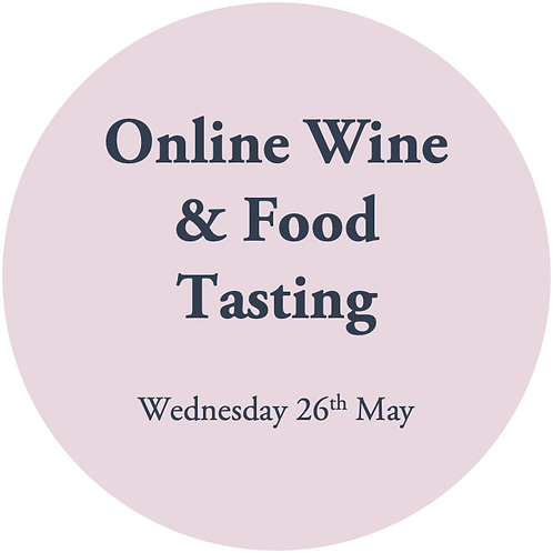Private Online Wine Tasting - 26th May