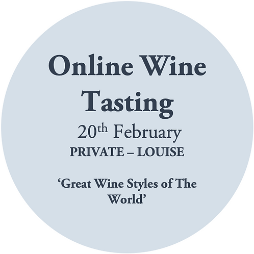 Online Wine Tasting - Louise Sinclair 20th February