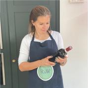 Ramekins & Wine's Thea posing with Avignonesi