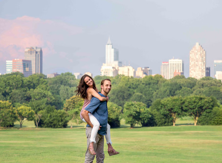 Erica & Ben – Raleigh, NC Engagement Session