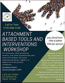 Attachment Based Tools and Interventions Training Flyer- Rachel Donohue-Dupler 2021.jpg
