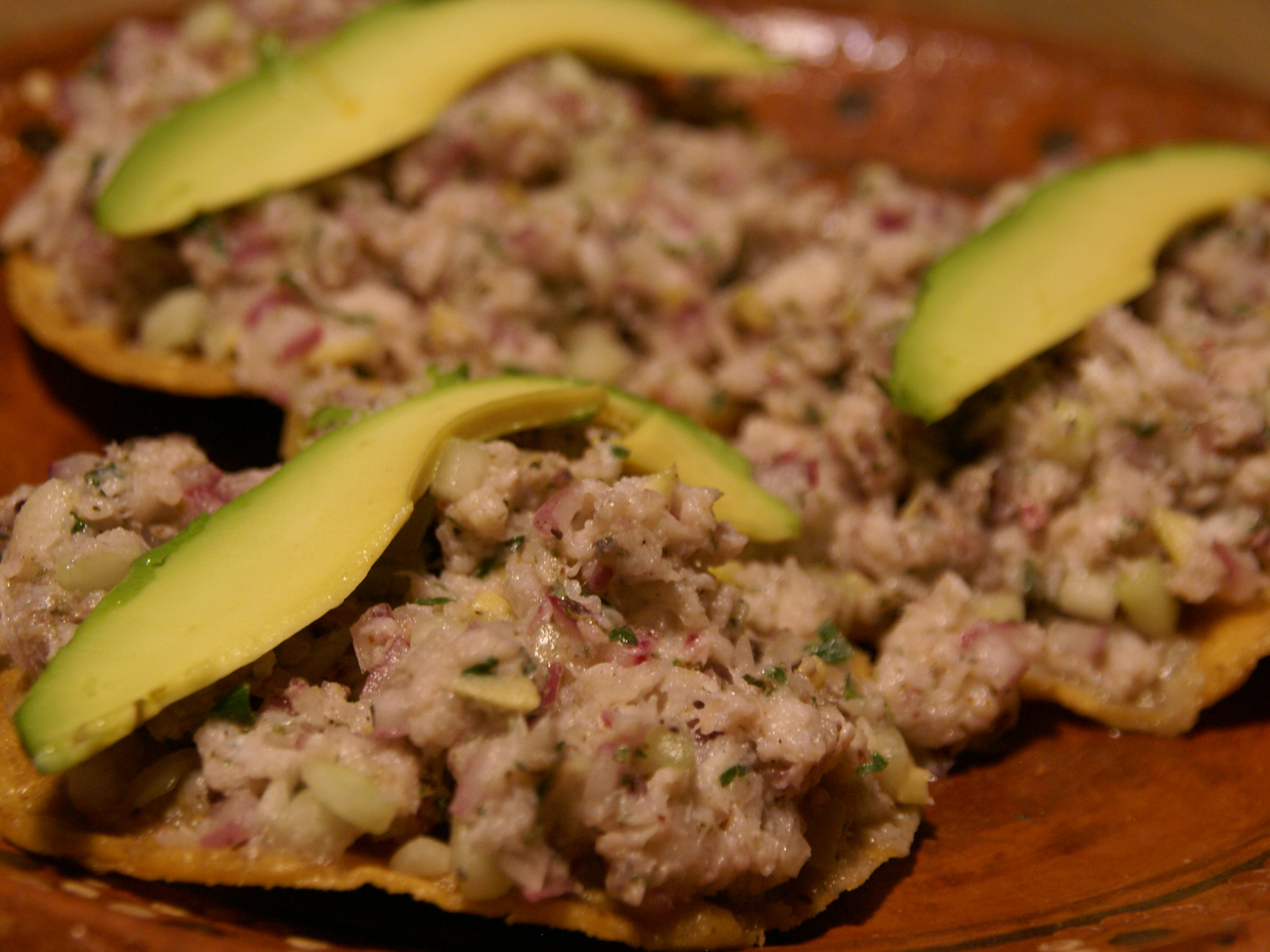 Tostadas De Ceviche