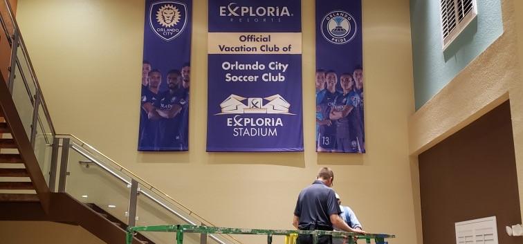 Partnership Banners - Orlando City Soccer