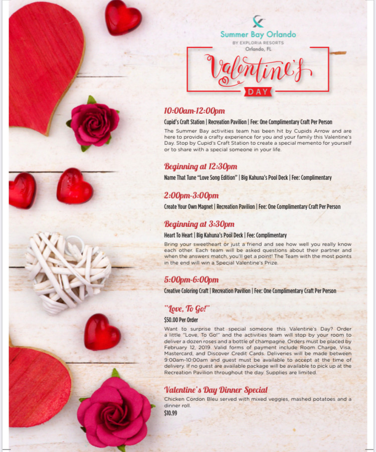 Valentine's Day Event Flyer