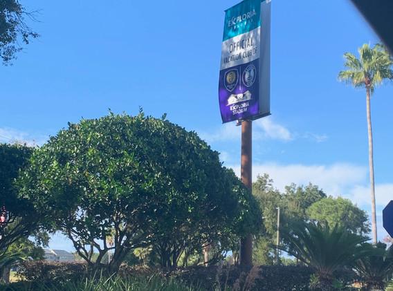 Partnership Street Banner - Orlando City Soccer