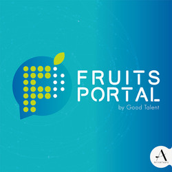 #design #fruitsportal #Logo