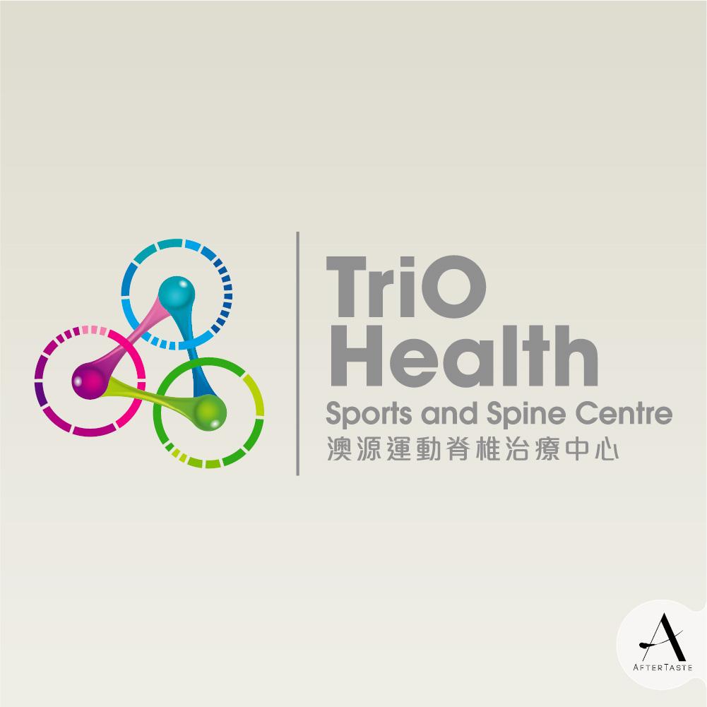 #design #Trio #spin #Logo