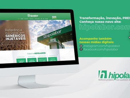 Com proposta de modernidade, Hipolabor lança novo site