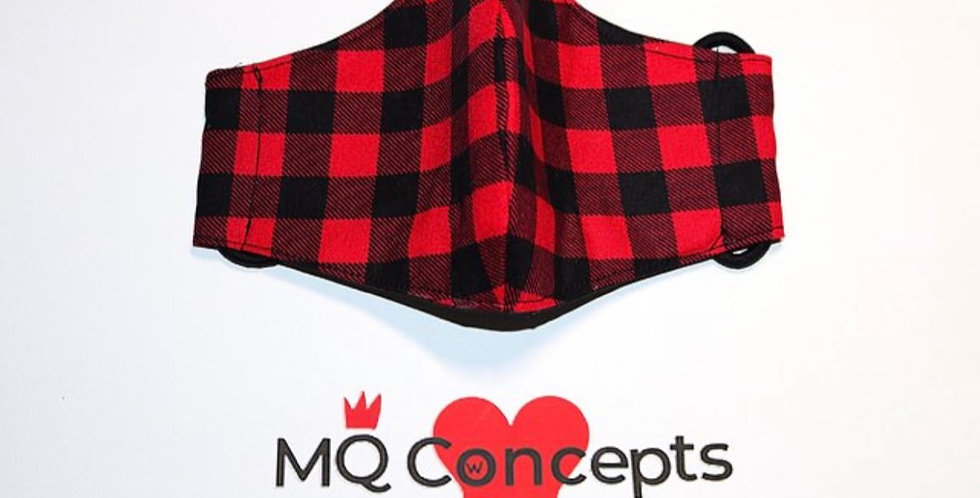 Plaid - Red and Black