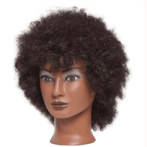 """Diane D315 Naomi 16""""-18"""" Mannequin Head Human Hair"""