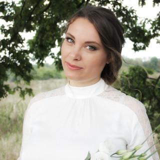 Brautfrisur romantisch