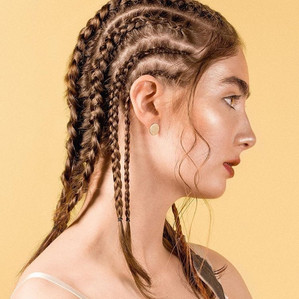 Photographer: Katherine Kingston for Fuss hair Hair: Bryden Baillie Model: Madelyn of Mode Models