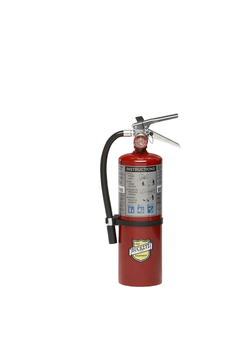 5lb.  ABC Dry Chemical Fire Extinguisher