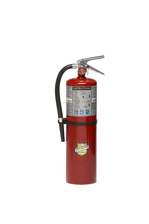 10lb.  ABC Dry Chemical Fire Extinguisher