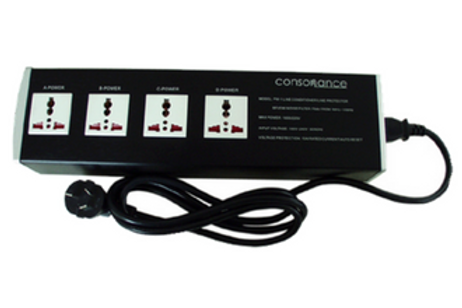 Consonance PW-1 - 4 plug Power filter &  shielded power board.
