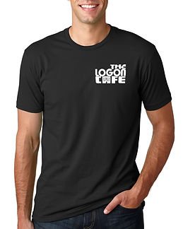 Black t-shirt Logon front mock.jpg