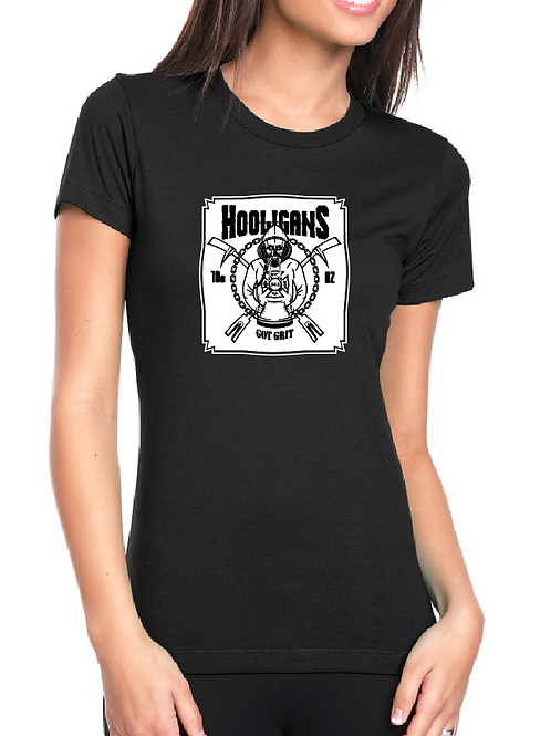 Hooligans Full Size Front Women's fit T-shirt