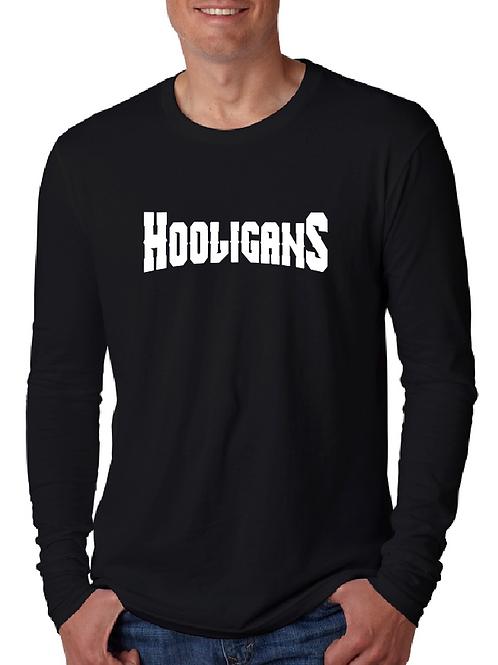 Hooligans front Banner full size Back Long Sleeve t-shirt