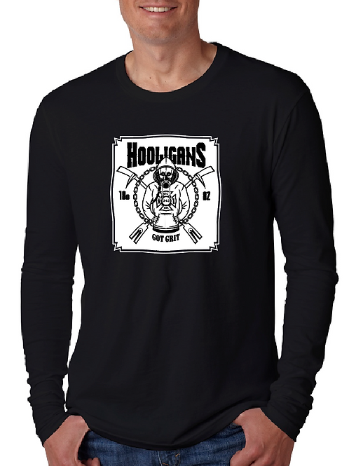 Hooligans Full Size Front Long Sleeve T-shirt
