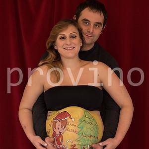 Valentina ed Andrea Belly Painting