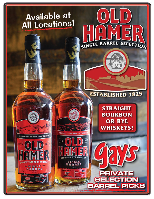 PRIVATE SELECTION OLD HAMMER RYE & BOURB