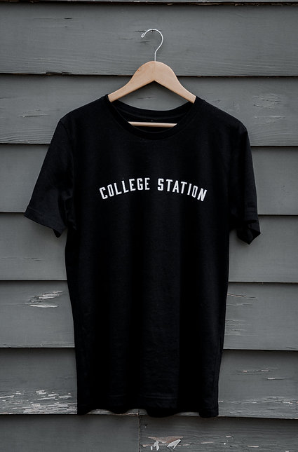 College Station Tee | Black