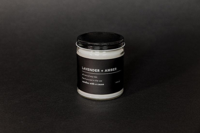 Lavender + Amber