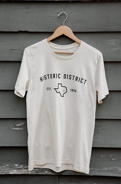 Historic District Tee | Cream