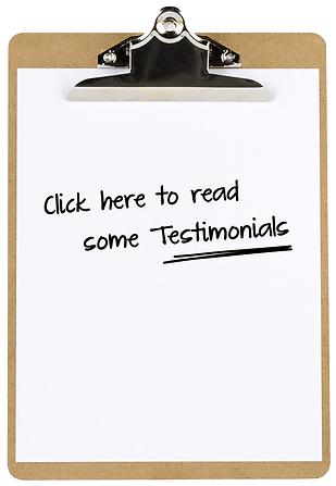 Read some Testimonials