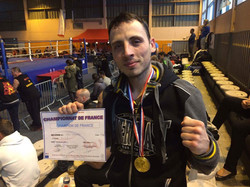 Robin Champion de France 2017