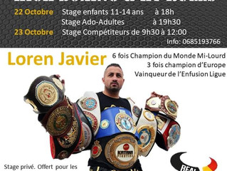 Stage Kick Boxing Exceptionnel