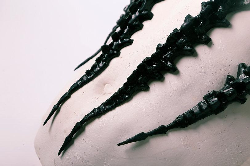 Epidermis+ Lesley-Ann Daly prosthetic