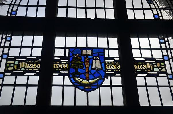 stained glass window university of glasgow union