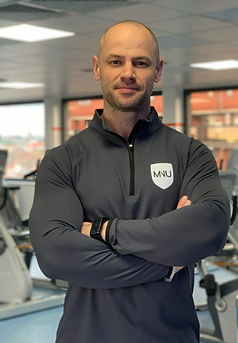 Nutritionist in a London gym